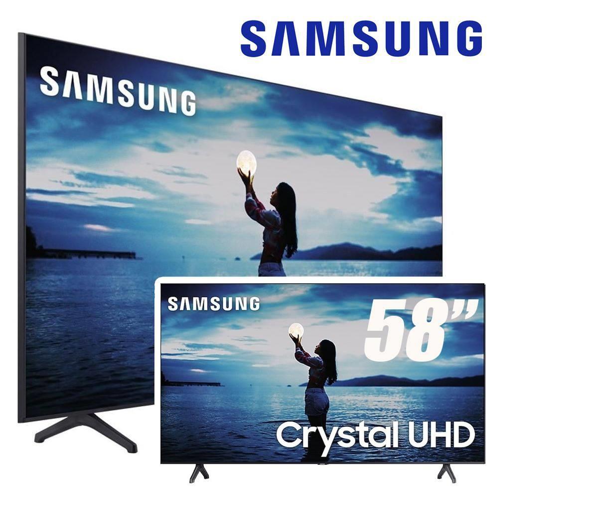 "Samsung Smart TV 58"" Crystal UHD 58TU7020 4K 2020"