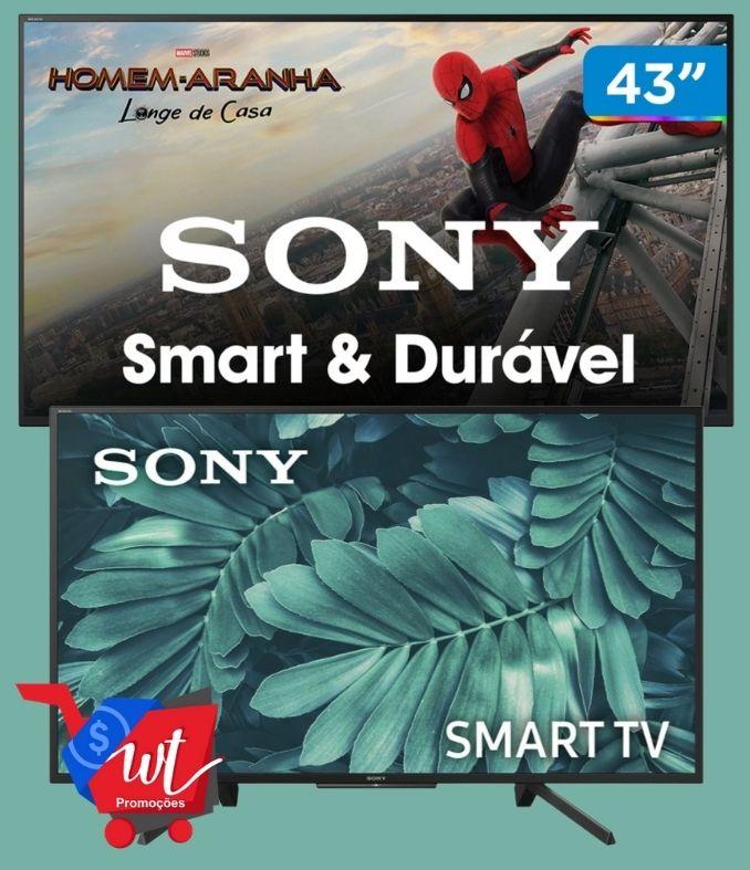 Smart TV LED 43″ Sony KDL-43W665F Full HD HDR 2 HDMI 2 USB Wi-Fi