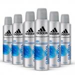 Kit Desodorante Aerossol Adidas Climacool Masculino com 6 Unidades – Magazine