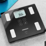 Balança de Controle Corporal com Bluetooth HBF-222T, Omron, Preta