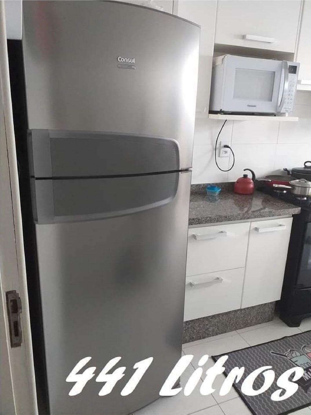 Refrigerador Consul CRM54BK Frost Free Duplex 441L – Inox