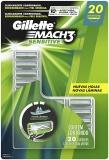 Carga para Gillette Mach3 Sensitive 20 unidades
