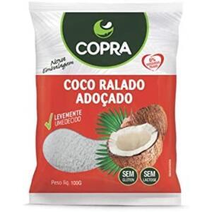 Coco Ralado Umido e Adocado