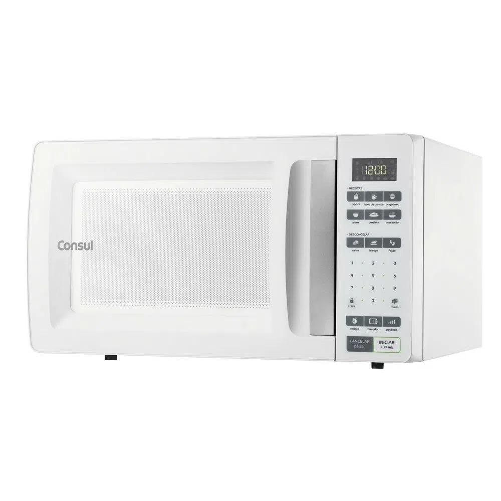 Microondas Consul 32 Litros Branco com Função Descongelar