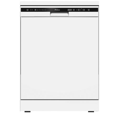Lava Louça de Bancada Philco PLL14B 14 Serviços Branca 110V