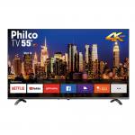 """Smart TV 55"""" Philco 4K UHD D-LED 3 HDMI 2 USB PTV55Q20SNBL"""