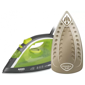 Ferro de Passar Roupa a Vapor e a Seco Arno - Ecogliss FEC1 Verde