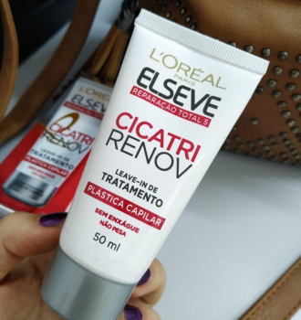 Leave In Reparador Cicatri Renov Elseve L'Oréal Paris 50 ml, L'Oréal Paris, Branco