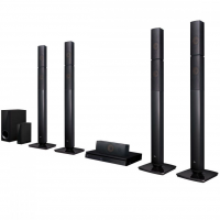 Home Theater com Blu-Ray LG Full HD LHB655NW 5.1 Canais 1000W