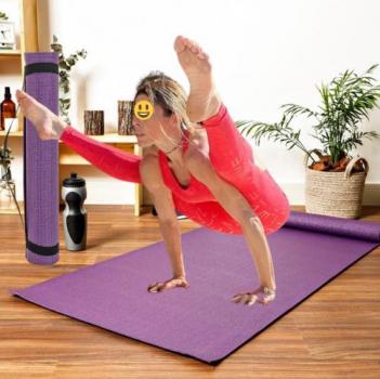Tapete de yoga 171x57cm roxo – Life Zone