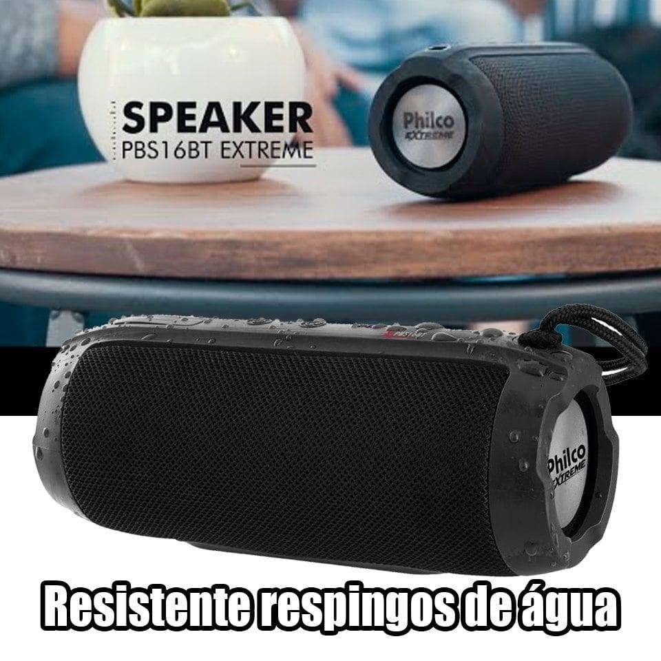 Caixa de Som Speaker Philco PBS16BT Extreme, 20W, RMS – Bivolt
