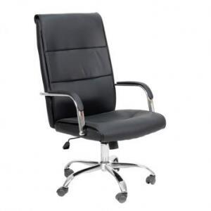 Cadeira de Escritório Diretor Giratória Hooz Preta