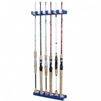 Suporte Para Varas Pesca Brasil Que Suporta Até 6 Unidades Prático E Eficiente Rod Rack