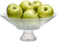 Fruteira de Mesa de Vidro Ruvolo Redonda Goumert – 10042100016 – Magazine