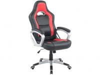 Cadeira Gamer Travel Max – Preta e Vermelha