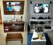 Sala de Estar Completa Multimóveis 3 Peças (4 Opções de cores)*