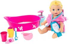 Little Mommy Brincadeira Na Banheira Mattel Loira