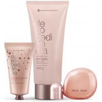 Kit Desobediente: Eau de Parfum 100ml + Creme Hidratante Mãos + Loção Desodorante Hidratante Corporal