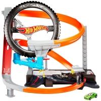 Pista De Percurso - Hot Wheels - Oficina Mecânica - Pista Motorizada - Mattel