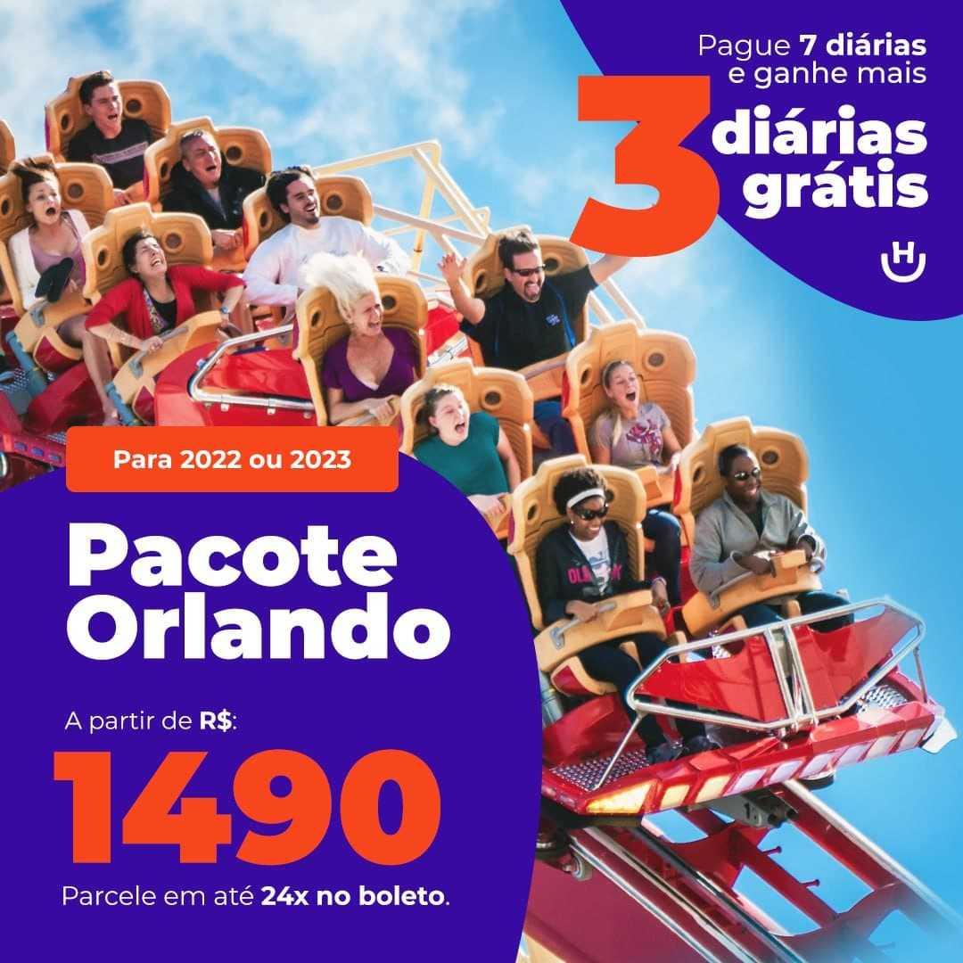 Pacote Orlando com Diárias Grátis