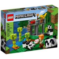 Lego Minecraft A Creche dos Pandas 204 Peças - 21158