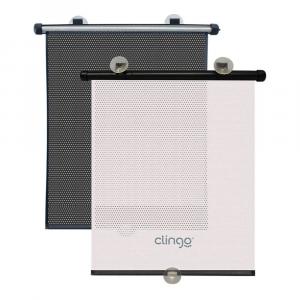 Cortina Retrátil Luxo para Carro Clingo C2214 - 2 Unidades