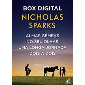 eBook Box Nicholas Sparks: Almas gêmeas - No seu olhar - Uma longa jornada - Dois a dois