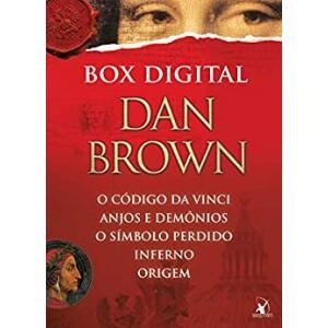 eBook Box Robert Langdon: Anjos e demônios - O código Da Vinci - O símbolo perdido - Inferno - Origem - Dan Brown