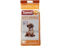 Tapete Higiênico Sanol Dog 80x60cm – 30 Unidades – Magazine