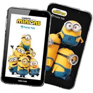 Tablet Positivo Twist Tab Minions T770KM Quad Core 32GB WI-FI