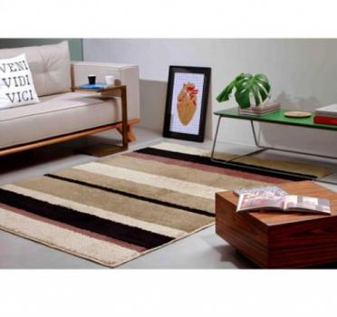 Tapete Para Sala Estampado Pelo Baixo 2,00×1,50 Classic Perola Oasis