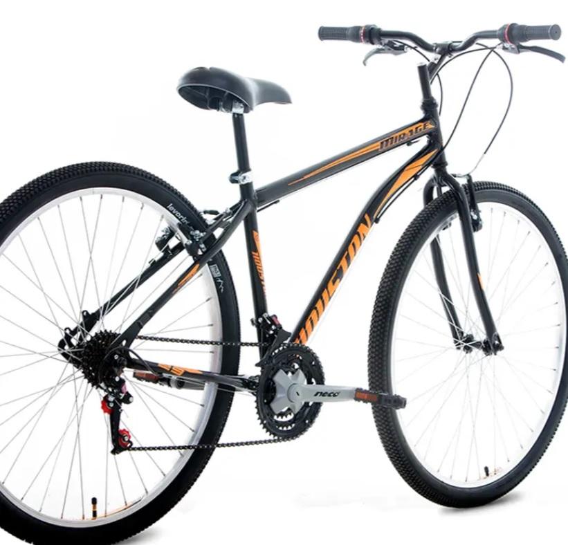 Bicicleta Houston Mirage Aro 29 com Freio V-Brake – Preta/Laranja