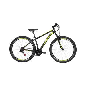Bicicleta Aro 29 Caloi 21 Marchas Velox V-Brake Mountain Bike Preta