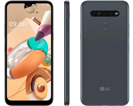"Smartphone LG K41S 32GB Titânio 4G Octa-Core – 3GB RAM 6,55"" Câm. Quádrupla + Selfie 8MP"