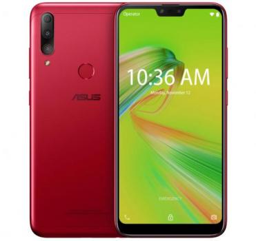 Zenfone Max Shot Vermelho Asus, com Tela de 6,2″, 4 GB, 64 GB e Câmera Tripla de 12MP + 5MP + 8MP – ZB634KL-4C007BR