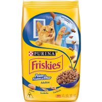 Ração Purina Friskies Petiscos para Gatos Adultos Sabor Peixe e Frutos do Mar - 1kg