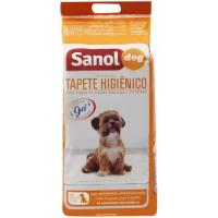 2 Pacotes Tapete Higiênico Sanol Dog 80x60cm - 30 Unidades