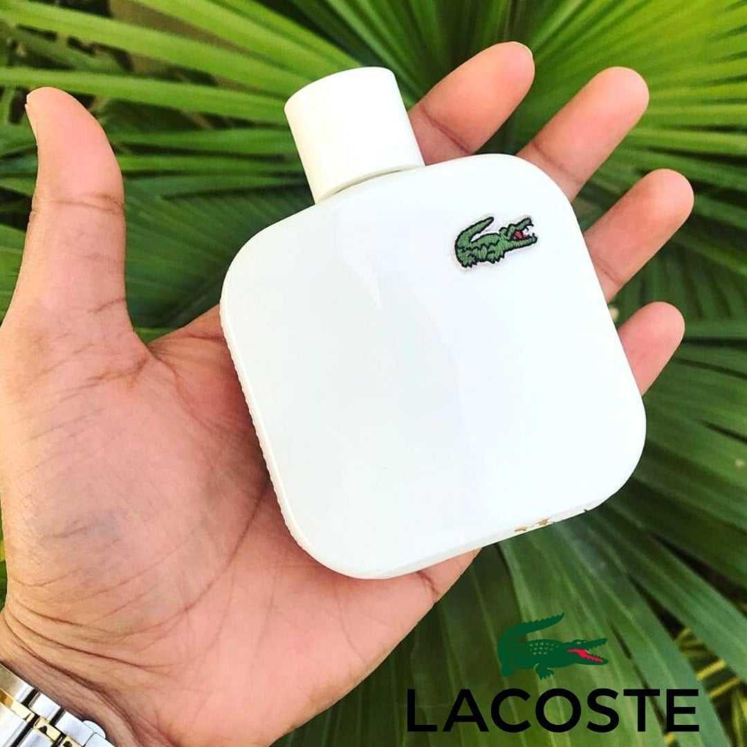 Eau De Lacoste L.12.12 Blanc – Pure Lacoste – Perfume Masculino – Eau de Toilette