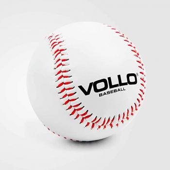 Vollo Sports Bola Beisebol, 9″, Branca