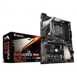 Placa-Mãe Gigabyte Aorus B450 Elite V2 AMD B450 ATX DDR4 (rev. 1.0)
