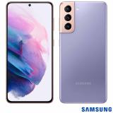 """Samsung Galaxy S21 Violeta, com Tela Infinita de 6,2"""", 5G, 128GB, Câmera Tripla de 12MP+64MP+12MP – SM-G991BZVJZTO"""