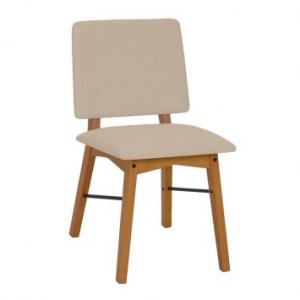 Cadeira de Jantar Veld Avelã e Bege