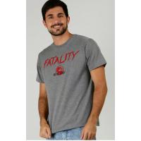 Camiseta Masculina Mortal Kombat Manga Curta Warner Bros