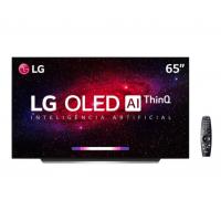 "Smart TV OLED 65"" 4K LG OLED65 Wi-Fi Bluetooth 4 HDMI 3 USB - OLED65CXPSA"