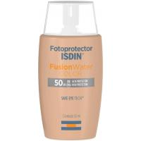 Protetor Solar Facial Isdin - Fotoprotector Fusion Water Color FPS 50+ 50ml