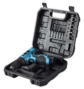 [Reembalado] Parafusadeira e Furadeira com Impacto Philco Force + maleta 14 acessórios - Bivolt