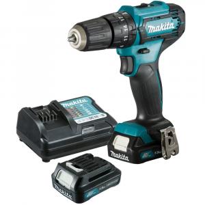Parafusadeira/Furadeira de Impacto a Bateria 12V Li-Ion com Carregador e 2 Baterias - MAKITA-HP333DWYX3-P