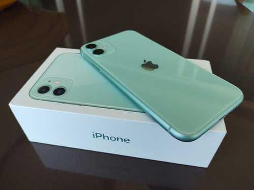 iPhone 11 Verde, com Tela de 6,1″, 4G, 64 GB e Câmera de 12 MP – MHDG3BR/A