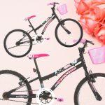 Bicicleta Houston Nina Aro 20 – Freio V-Brake