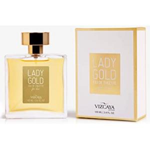 Perfume Lady Gold Vizcaya Eau de Toilette Feminino 100ml